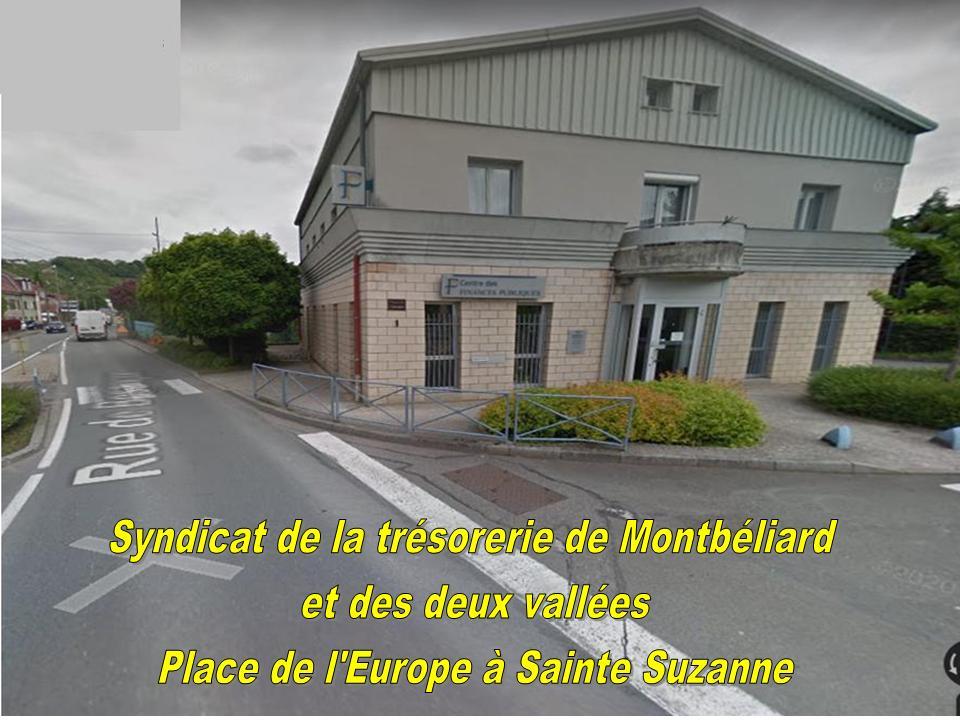 RÉUNION DU SYNDICAT DE LA TRÉSORERIE DE MONTBÉLIARD ET DES DEUX VALLÉES