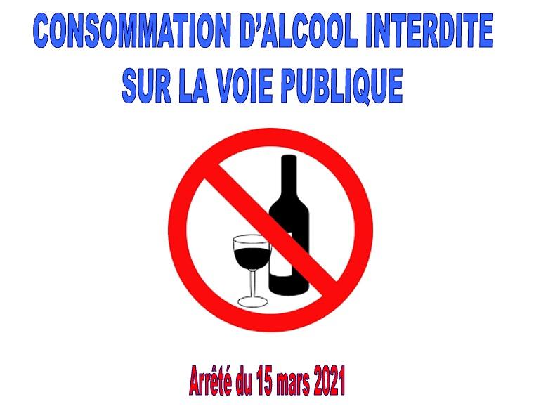 ARRÊTÉ PRÉFECTORAL SUR LA CONSOMMATION D'ALCOOL