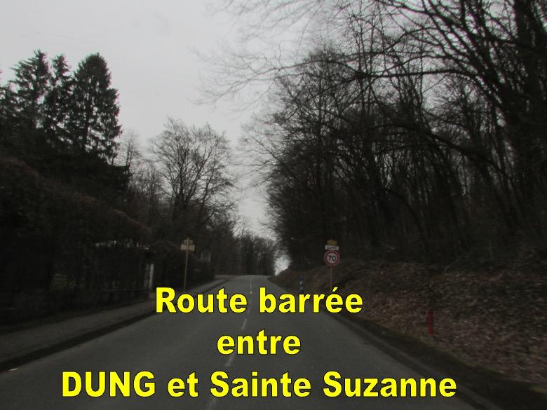 ROUTE BARRÉE TRAVAUX D'ÉLAGAGE